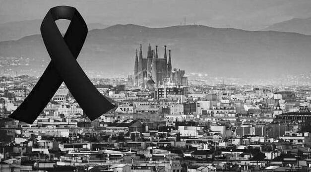 梅西C罗哀悼巴塞罗那恐袭遇难者 西甲将默哀