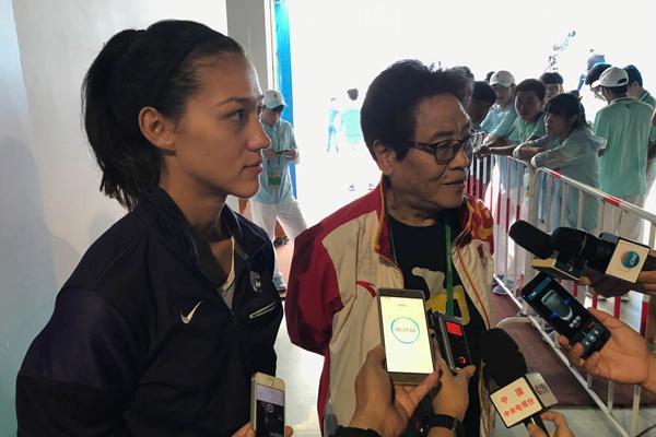 外孙女愿代表中国战奥运 郑凤荣田径梦在延续