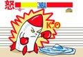 漫画:火箭主场不甘受辱 憋满怒气槽融化掘金