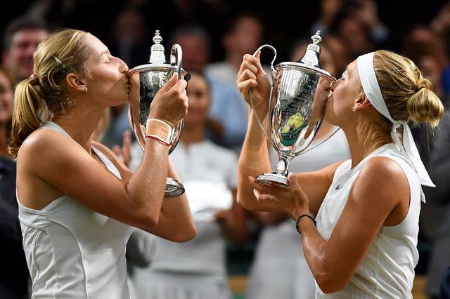 温网-女双决赛现双蛋 马卡洛娃/维斯尼娜夺冠