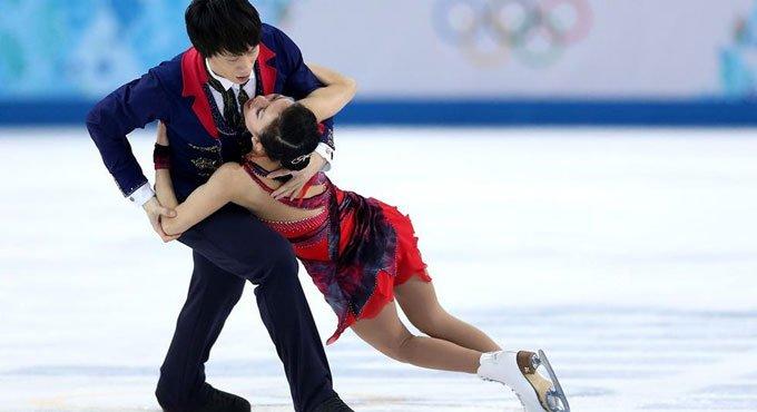 冬奥会15天图片精选集锦 庞清佟健深情告白谢幕