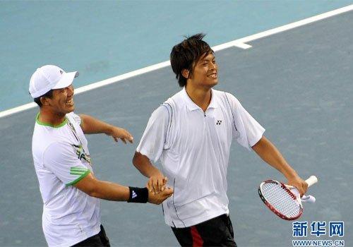 李欣翰:力拼网球混双金牌 这届比上届更难打