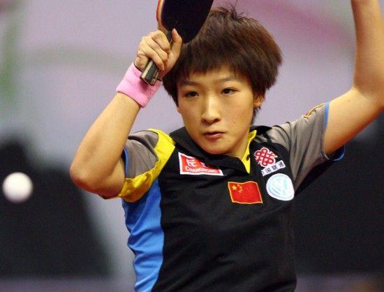 乒乓球女单解签 丁宁遇冤家 刘诗雯抽上上签