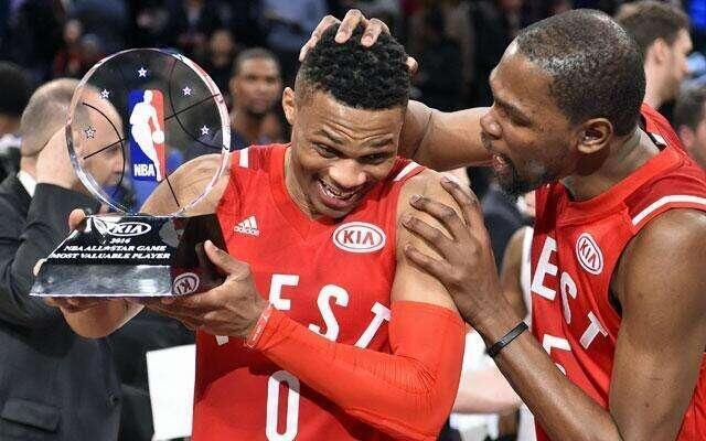 全明星MVP赔率榜:韦少列榜首 哈登并列第四
