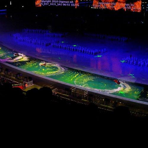 亚运会开幕式揭秘 一百余分钟主题一滴水(图)
