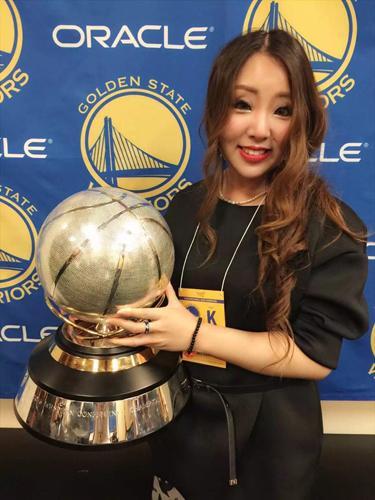 腾讯NBA六大美女记者之静雯:邓肯女友好闺蜜