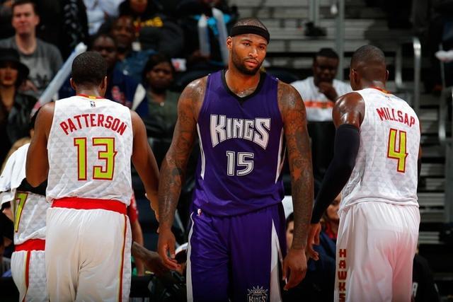 考辛斯遭NBA禁赛一场 对阵老鹰肘击对手头部