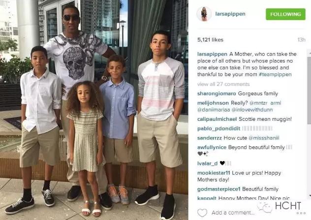 NBA球星如何过母亲节 贴图刷屏感恩一样也不少