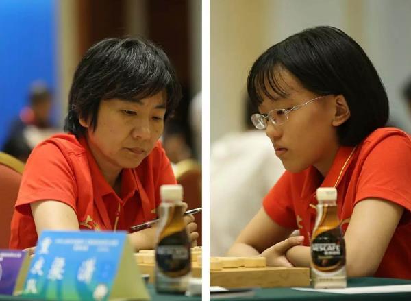 母女棋手闪耀全运赛场 父亲年少成名是象棋大师