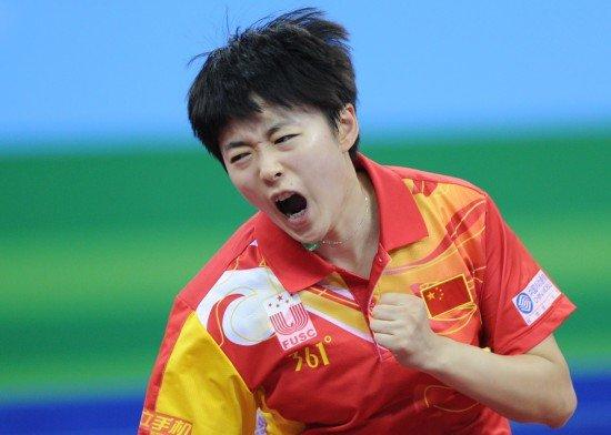 乒球女团中国3-0日本卫冕 范瑛饶静文齐立功