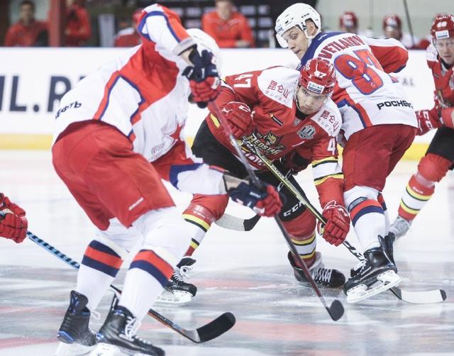 KHL昆仑鸿星2-0胜老鹰 两连败后收获主场首胜