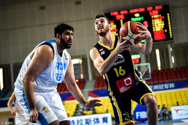 篮球亚冠-阿尔利雅得轻取台北达欣 夺两连胜