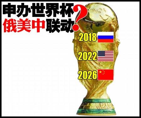 英媒分析未来世界杯主办权归属 俄美中联动?