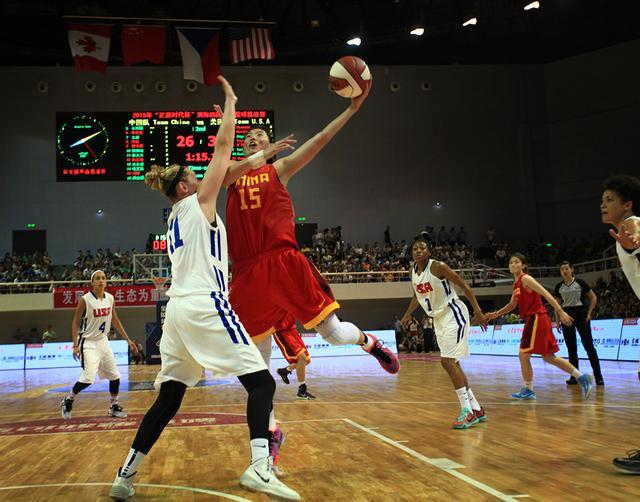 四国赛:国青女篮输美国职业队 邢金博砍14分