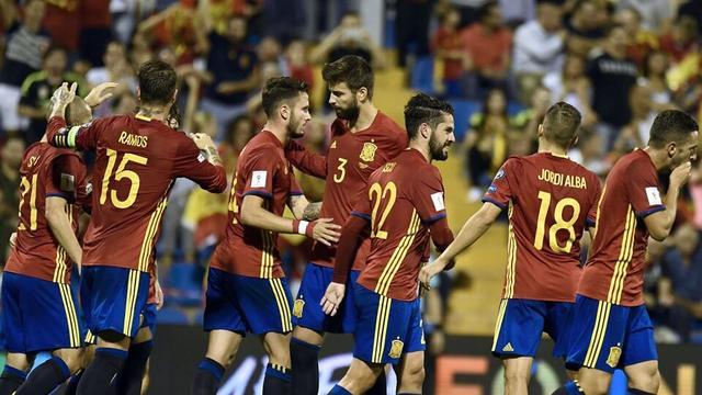 世预赛综述-西班牙宣告晋级 冰岛大胜握主动