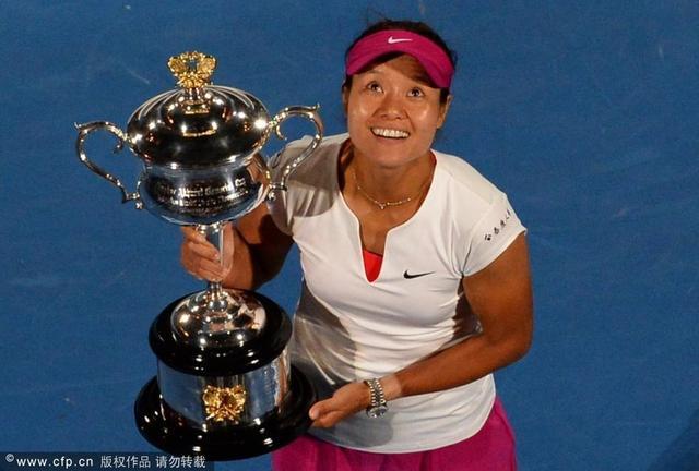 李娜澳网夺冠狂揽1400万 生涯总奖金逼近一亿