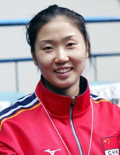 腾讯网冠军前方报道团成员之——张娜