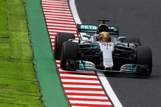 F1日本站排位赛:小汉强势夺杆位 维特尔第三
