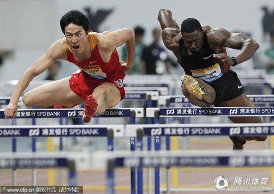 刘翔七步跑惊艳只是小考 世锦赛奥运会见真章