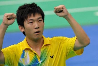 羽毛球名将之中国男子运动员邱子瀚