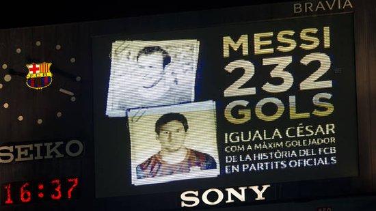 巴塞罗那足球队的个人纪录