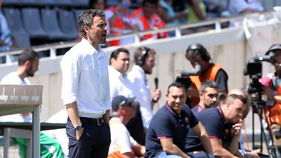 Enrique Cordoba match analysis Barcelona victory