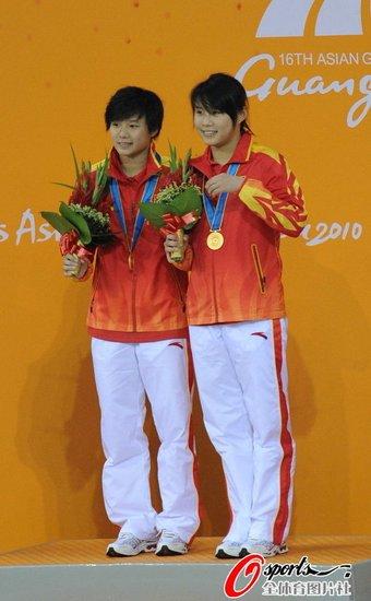 女双3米板施廷懋/王涵夺冠 韩国组合受伤退赛