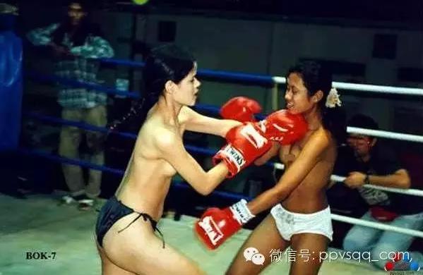 女子裸体成人片_泰国女子裸体泰拳比赛 掀起监狱女子拳击热潮