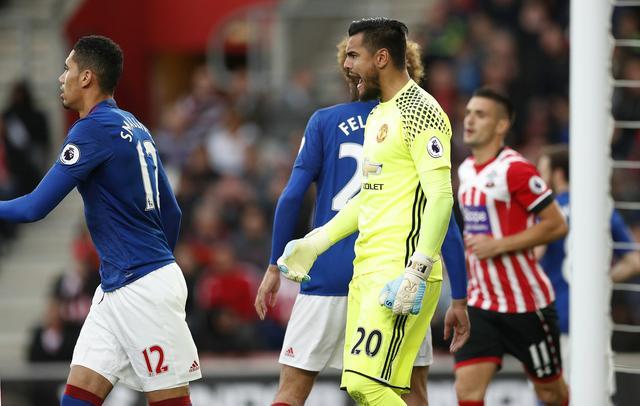 英超-曼联0-0南安普敦5轮不胜 马夏尔中门柱