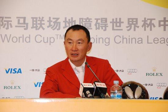 中国奥运马术第一人折桂 黄祖平:马术是责任
