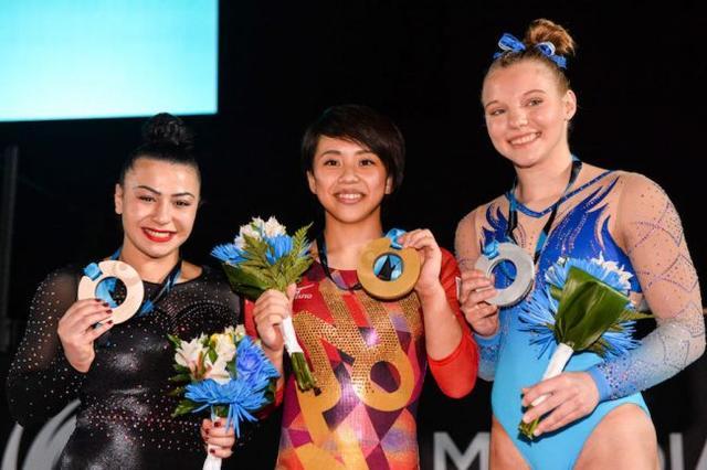 狂操日本女子_233分夺得金牌,时隔63年帮助日本女子体操站上了世界大赛最高领奖台.