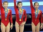 中国体操女团10连冠