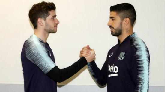 """罗贝托与苏亚雷斯""""争执"""":我的进球更漂亮!"""