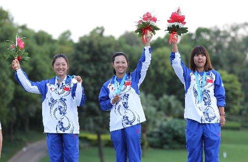 大运会高尔夫中国女团摘银 中华台北获得两金