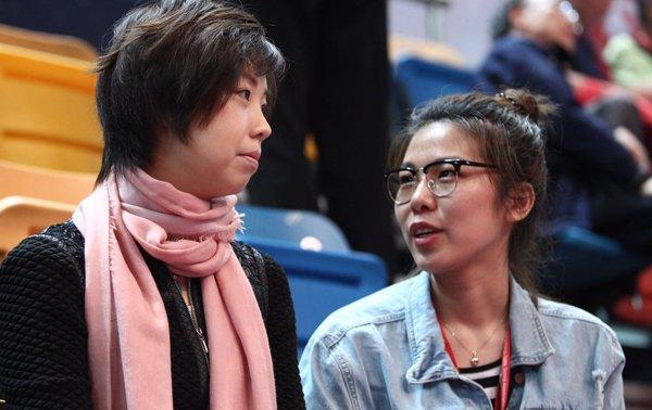 腾讯体育记者专访张怡宁