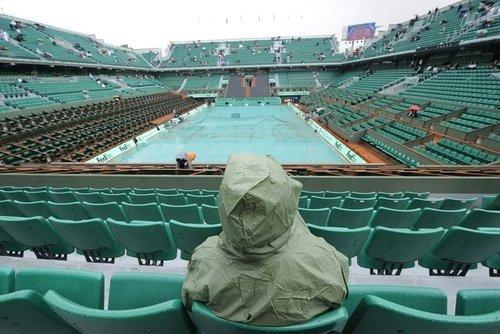 巴黎今日依旧小雨阵阵 李娜延赛被迫继续推迟