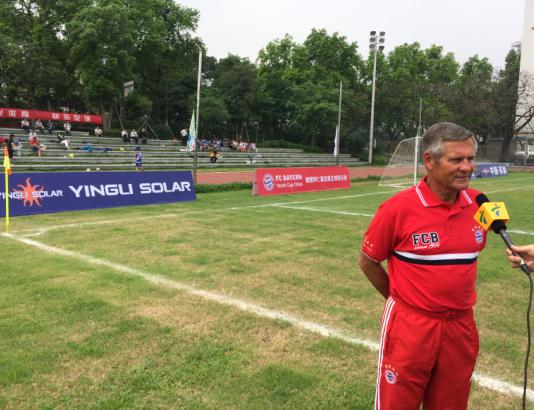 英利携手校园足球 选拔优秀球员赴拜仁参赛