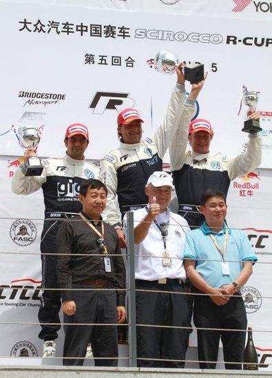 尚酷杯鄂尔多斯第五回合 蒙特西杆位发车夺冠