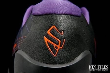 坚强男纳什Nike Hyperdunk Low 太阳客场配色