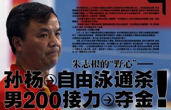 朱志根:让孙杨称霸十年 打骂队员因要求从严