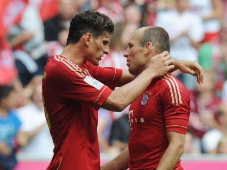 拜仁单季5次逆转缺少霸气 落魄赛季仅剩1亮点