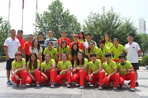 中国女垒出征世锦赛 首战信心足目标进军前四