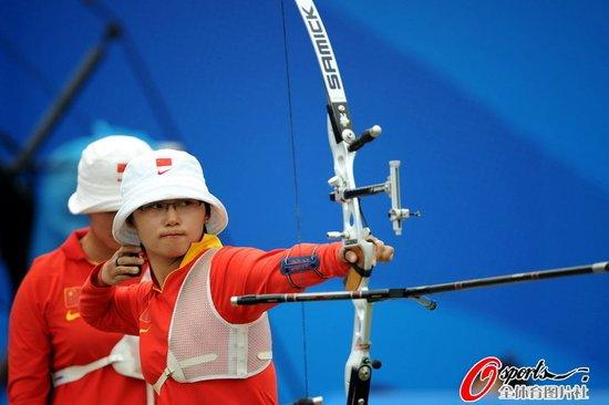 射箭女团-中国队两个加赛不敌韩国 遗憾摘银