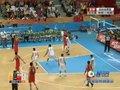 视频:男篮半决赛 中国阵地进攻丁锦辉命中