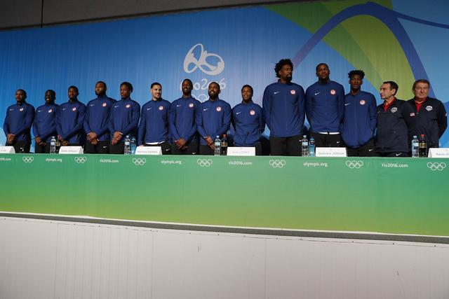 纪录!46名NBA球员及26名WNBA球员参加里约奥运