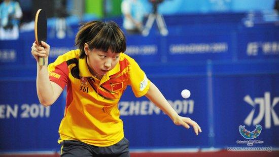 大运会乒球中国女团3-0乌克兰 率先挺进四强