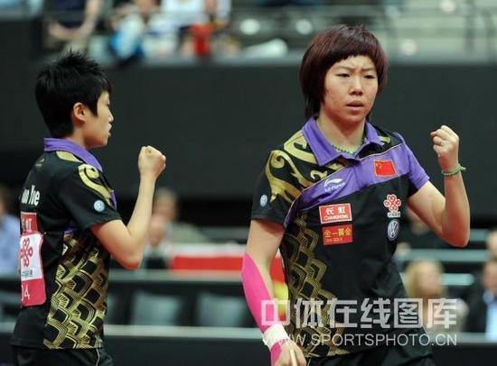郭跃李晓霞成功卫冕 国乒女双实现12连冠霸业