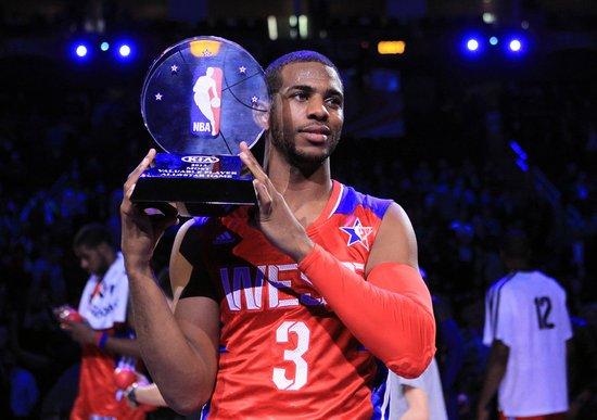 保罗荣膺全明星MVP 职业生涯首次获此殊荣