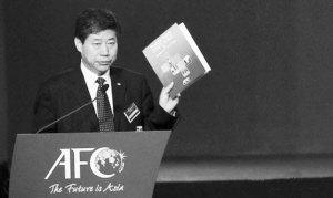张吉龙竞选国际足联执委 与日足协副主席竞争