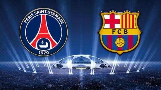 欧冠1/4决赛对阵:巴萨抽中巴黎圣日耳曼